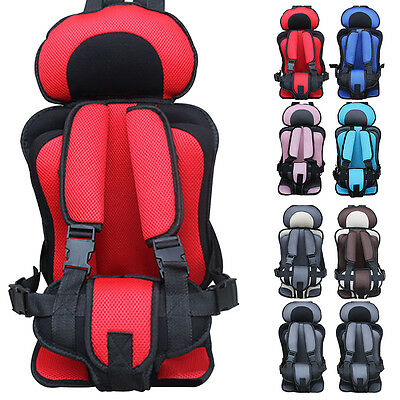 Portable Safety Car Seat for Baby Kids Toddler Infant Thickening Sponge Chair