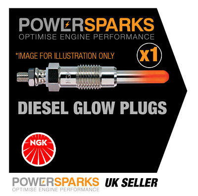 Y9004AS NGK QUICK GLOW PLUG AQGS TYPE [90860] VAUXHALL COMBO 1.3 CDTI 90 Euro 6