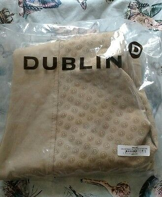 Dublin Cool It Riding Tights Jodhpurs Beige - ladies size 8/26