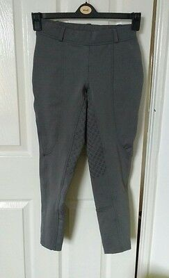 Dublin Cool-It Riding Tights Jodhpurs Charcoal - ladies size 8/26