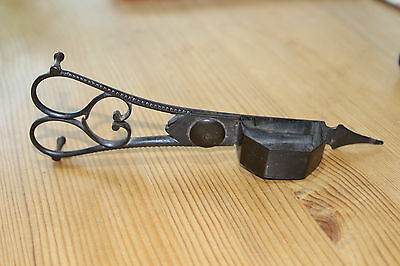 Vintage Antique Pair Of Candle Wick Trimmer Scissors