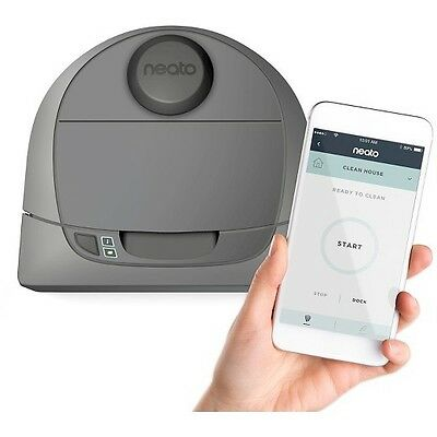 Neato Botvac Connected D3 - WiFi Enabled Robotic Smart Vacuum