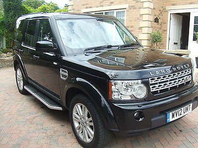 2012 Land Rover Discovery 4 Xs One Owner From New, Fsh, Black