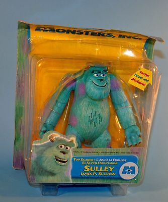 """2001 Disney Pixar Monsters Inc SULLEY 6"""" Action Figure Toy"""