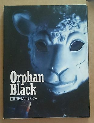 orphan black Rare press book
