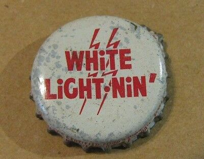 "White Light Nin""  Soda Cork Bottle Cap Windsor Pa Richardson Bott."