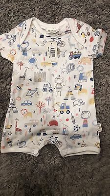 Toshi 000 Baby Boys Romper New With Tags