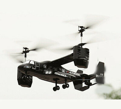 Black New Length 38CM 2.4G Remote Control Helicopter Model Electronic Toys #