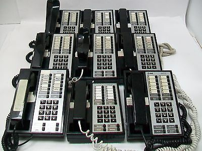 LOT OF 9 Lucent BIS-10 & HFAI-10 7313H01A Phone (w/ handsets)