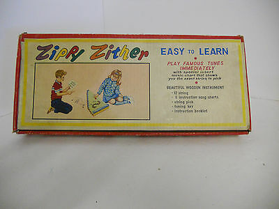 Zippy Zither Musical Instrument Toy USED Good Condition