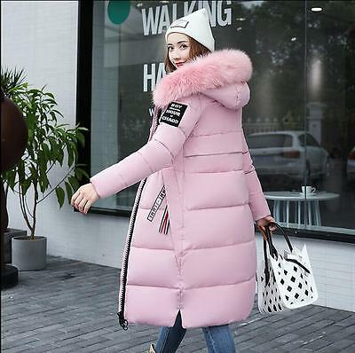 New Fashion Winter Jacket Women Down Cotton Padded Casual Long Hooded Coat Parka