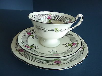 Bone China Trio By Shelley Pattern No 11199 c1920s