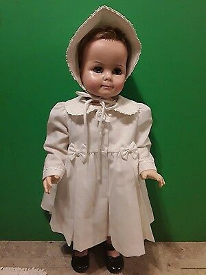 """Vintage 32"""" Saucy Walker Ideal Play Pal Doll 1960s T28X-60"""