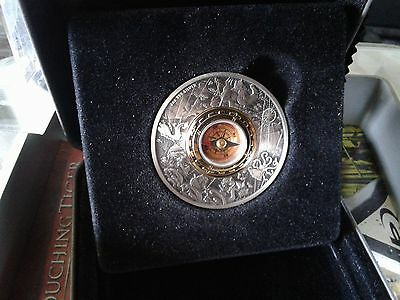 The new  compass from Perth Mint Australia 2 ounce silver antique compass coin