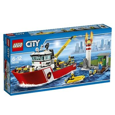 Lego City Fire Ship 60109