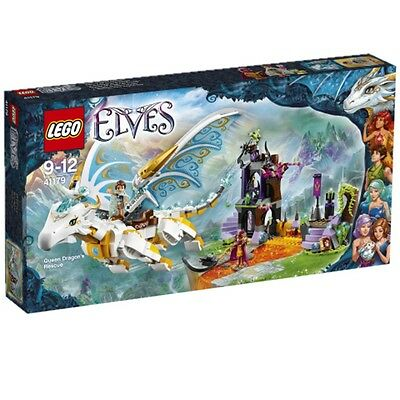 Lego Elves Rescue the Dragon Queen 41179