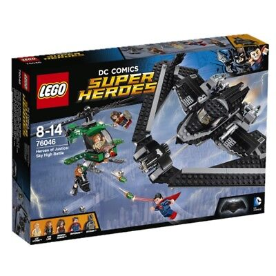 Lego DC Comics Super Heroes Heroes of the Justice: Duel in the air 76046