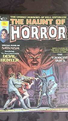 Stan Lee - The Haunt of Horror No 2 Vintage Monster Magazine. July 1974