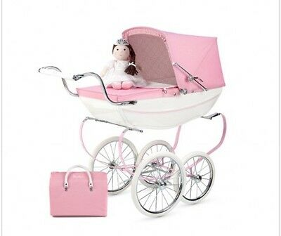 pink silver cross dolls pram And (new)Accessories