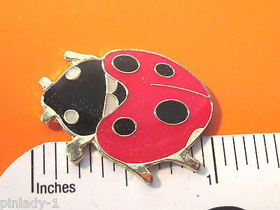 LADY BUG  LADYBUG - hat pin , lapel pin , tie tac , hatpin  scarf pin GIFT BOXED