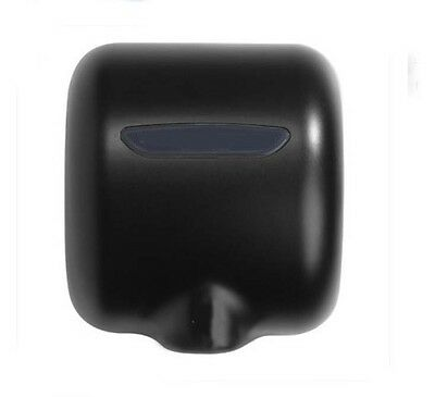 New Black Stainless Steel Wall Mounted Automatic Induction Hand Dryer Machine