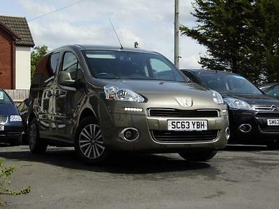 Peugeot Partner auto automatic wav wheelchair access accessible disabled car