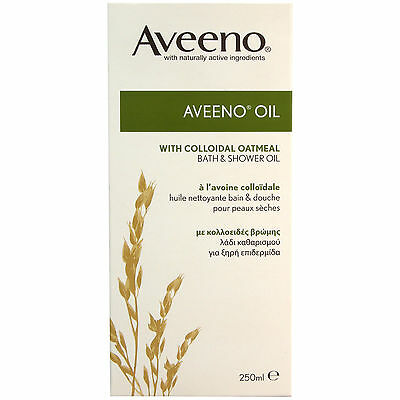 Aveeno Shower & Bath Oil 250ml