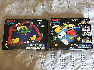 Tomy Big Fun... Tomy Big Loader And Motor Block Sets For Spares