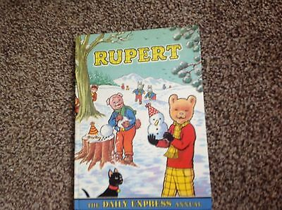 The Rupert Bear Daily Express Annual 1974 - Alex Cubie