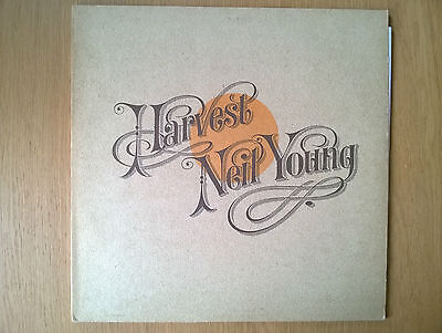 Neil Young - Harvest LP (1972, late 70s reissue) Ex+