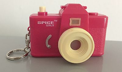 Spice Girls Pink Keyring Viewer Official Merchandise 1997 rare
