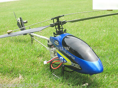 New Blue Length 72.5CM Remote Control Plane Helicopter Model Gift Children Toys
