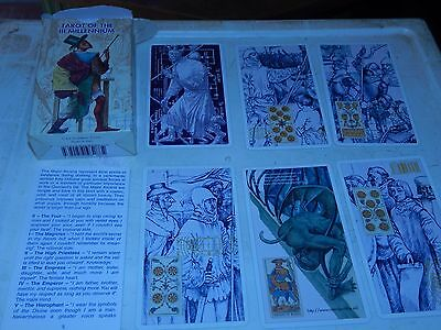 collectible 3 MILLENIUM TAROT CARDS  very good condition  VTG HTF OOP