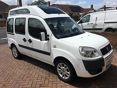 Fiat Doblo Disabilty Car, 1.9 diesel, 2007