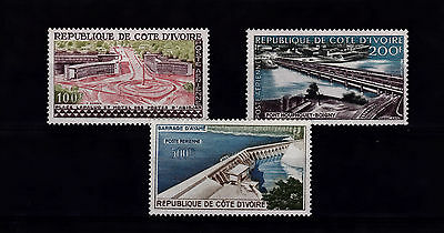 Ivory Coast 1959 Air Set Mnh