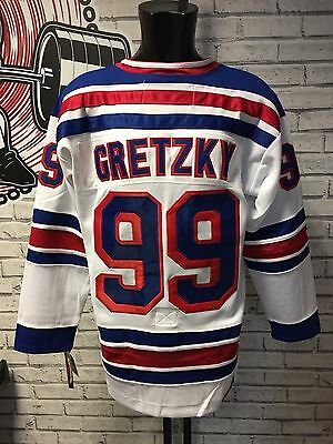 New York Rangers NHL Jersey - Medium - Wayne Gretzky #99