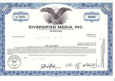 Diversified Media, Inc., 1976