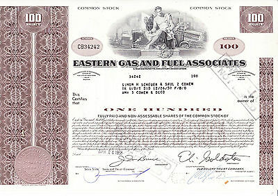 Eastern Gas and Fuel Associates, 1968