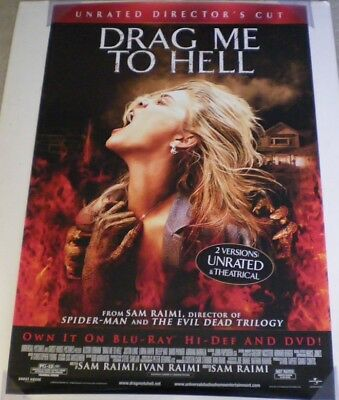 DRAG ME TO HELL DVD MOVIE POSTER 1 Sided ORIGINAL 27x40