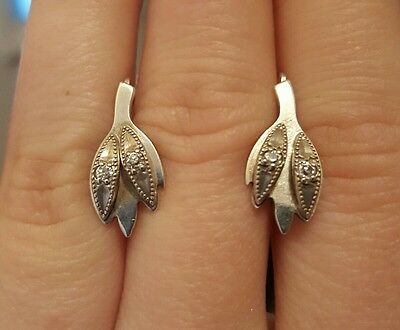 Lovely Silver 925 earrings Soviet