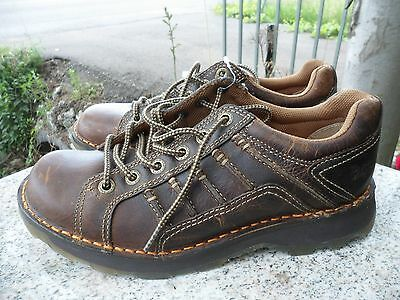 DR. MARTENS MEN'S KAY LACE-UP OXFORD Gaucho LEATHER 9 US MEDIUM 8 UK Brown New!