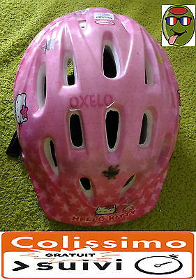 Casque Protection Velo Vtt Enfant Hello Kitty Taille Xs 46-48
