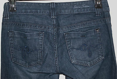 Guess Womens Size 27x33 Stretch Daredevil Boot Cut Low Rise Jeans