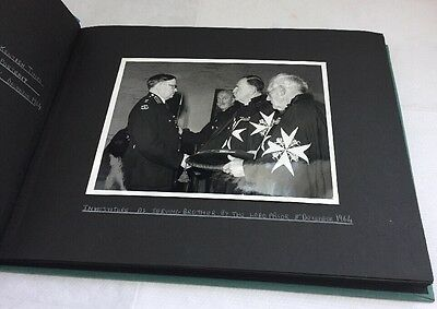 Vintage St John Ambulance Interest Photo Album 1960s