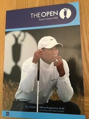The Open Championship - Royal Liverpool ( Programme 2006 )