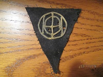 WWI US Army patch 83rd Division Patch AEF