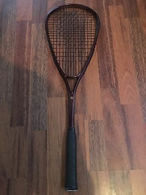 Wilson Tempest Graphite Composite Squash Racket With New Synthetic Gut Restring