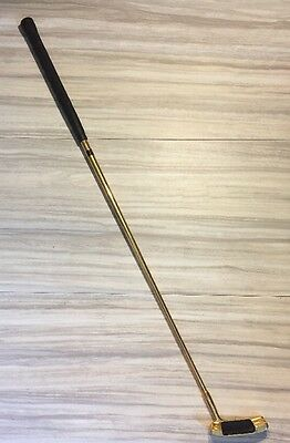 Brown 24K Gold Plated Putter by Sutters' Mills Cole