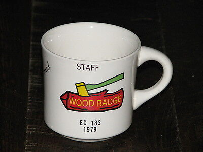 Boy Scouts Vintage Coffee Mug 1979 Great Trail Council Wood Badge