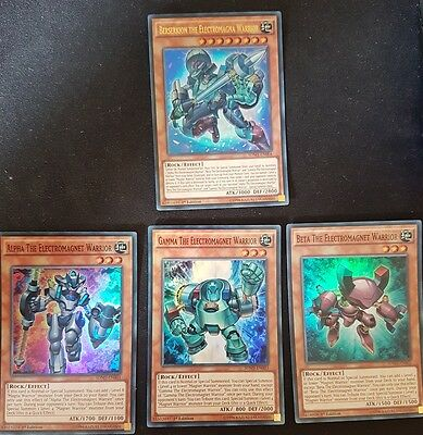 The Electromagna Warriors Yugioh Cards